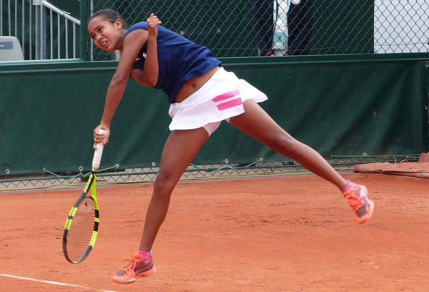 Tennis junior: Fernandez passe au 3e tour