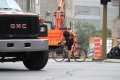 Piétons et cyclistes: La technologie dans les camions pourrait sauver des vies