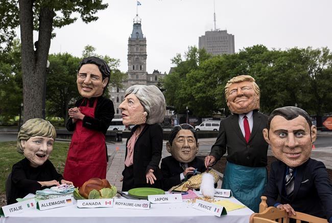 G7: premier coup d'éclat d'Oxfam-Québec