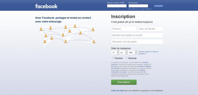 Facebook fête ses 10 ans en français