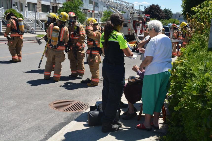Deux blessés dans un incendie à LaSalle