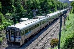 Les usagers du train de banlieue démunis face aux travaux du REM