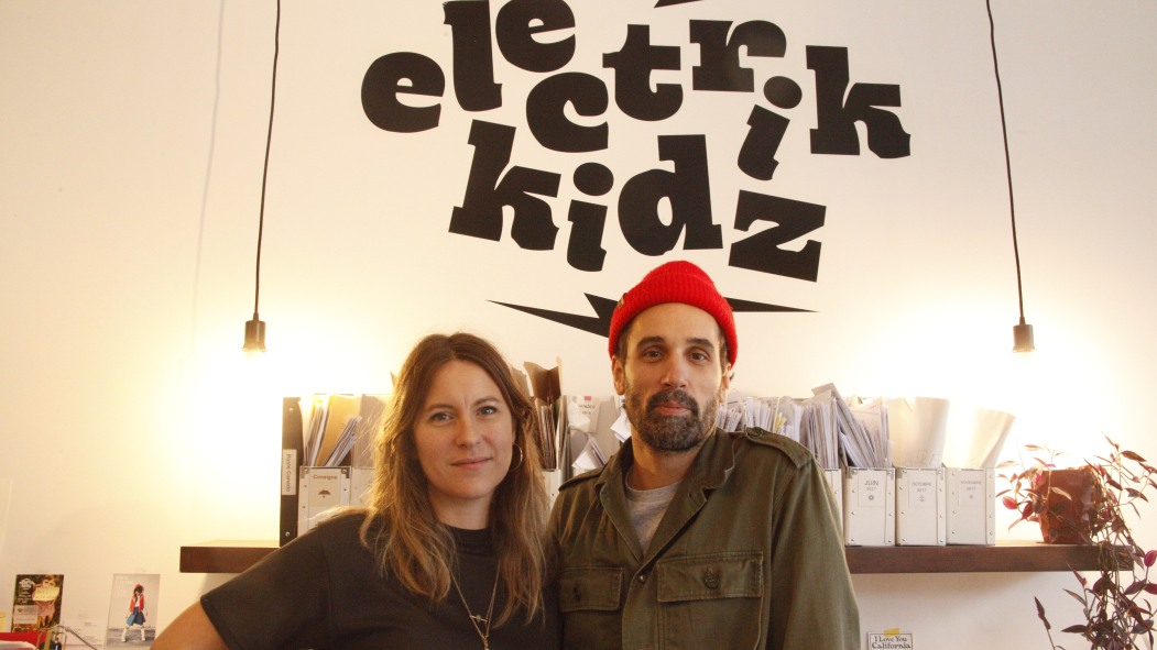 Christian Simard et sa conjointe Ariane St-Pierre ont fondé Electrik Kidz dans le quartier en 2010.