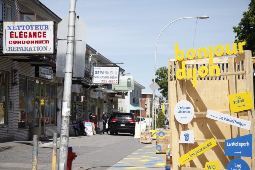 Des commerçants mécontents de l'extension de Rue de Dijon