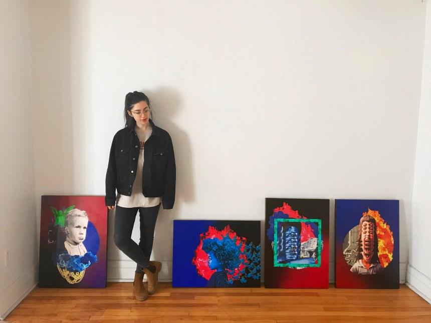 Une artiste d'Hochelaga-Maisonneuve choisie par le festival MURAL