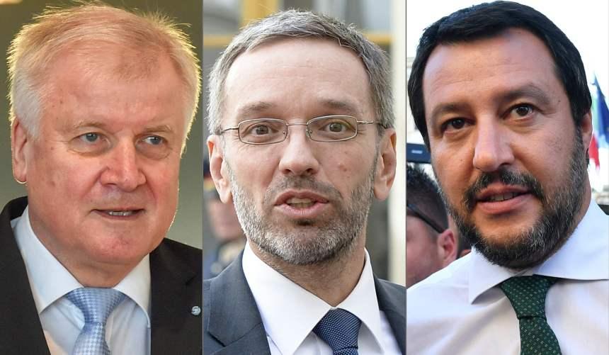Un «axe» Italie-Autriche-Allemagne pour s'opposer à Merkel sur l'immigration