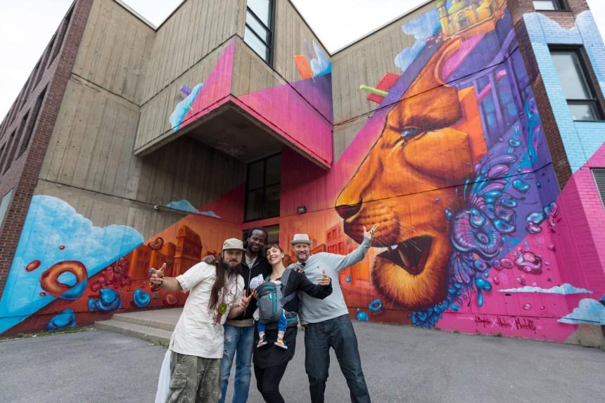 L'art urbain à l'école James Lyng