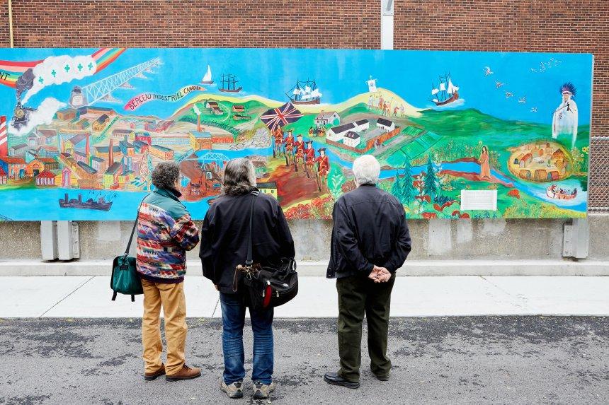 Peindre l'histoire de Pointe-Saint-Charles