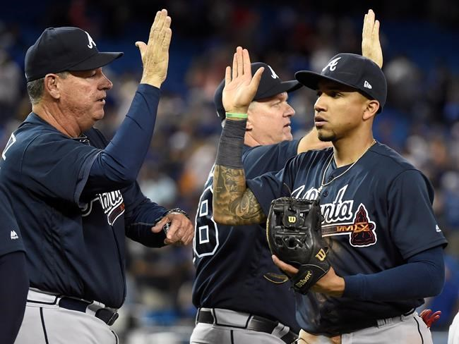 Les Braves dominent les Blue Jays 11-4