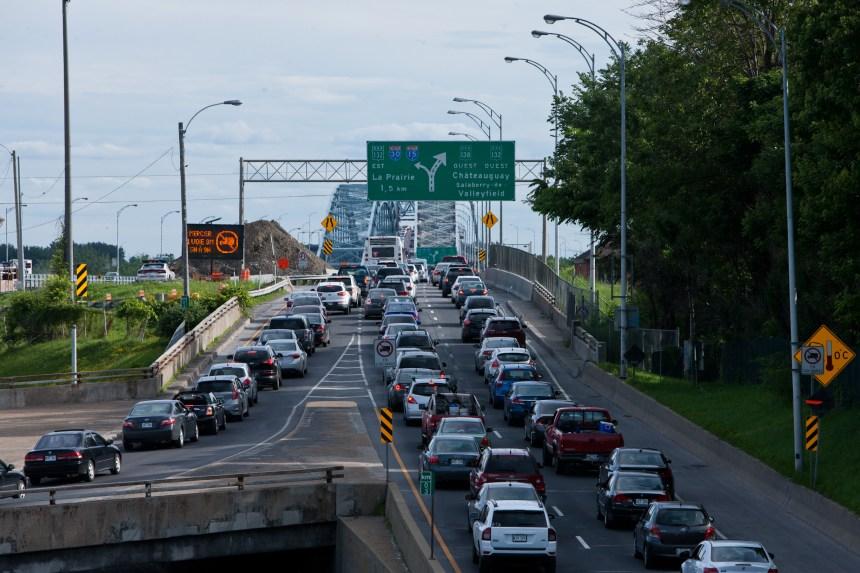 Mesures pour améliorer la circulation sur le pont Mercier