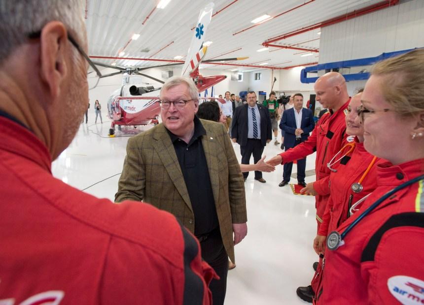 Ambulances aériennes: un projet pilote instauré