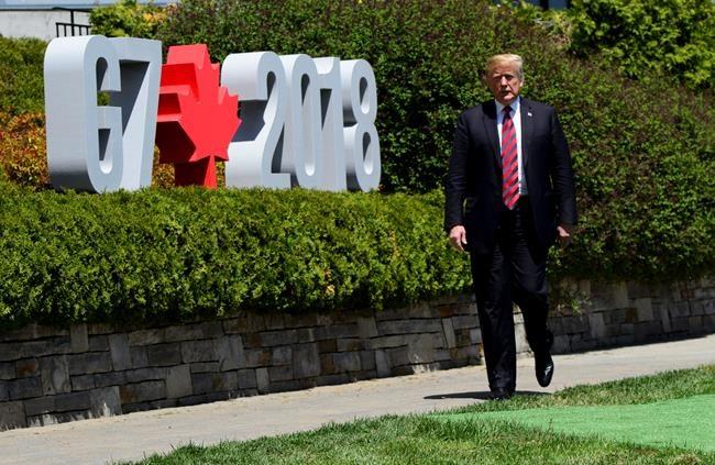 G7: Après la guerre sur Twitter, Trump calme le jeu