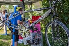 Collecte et réparation de vélos