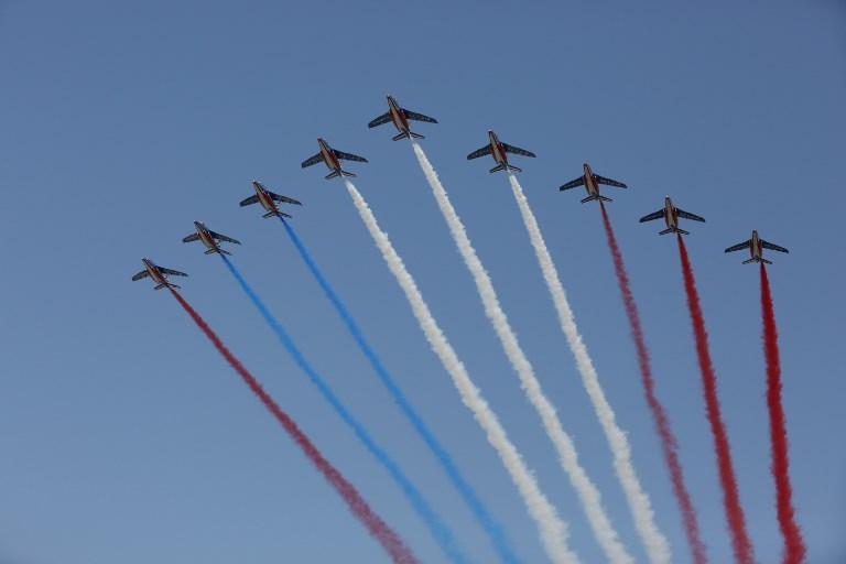 La Patrouille de France se trompe de couleur lors du défilé du 14 juillet