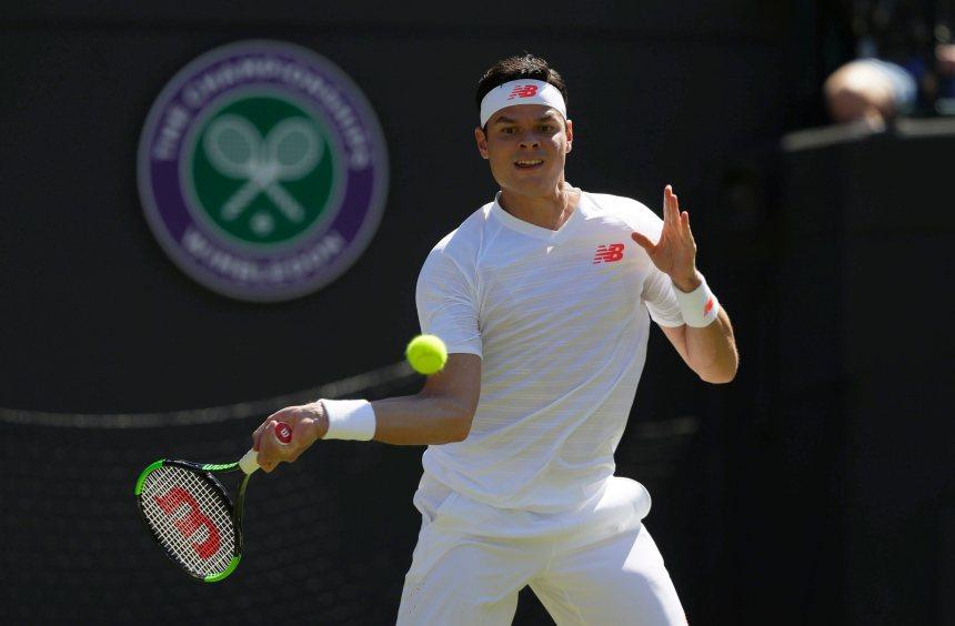 Raonic accède facilement au 2e tour à Wimbledon