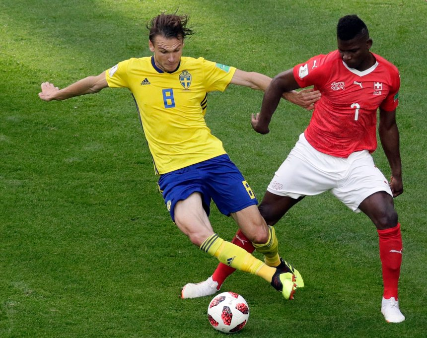 Coupe du monde: La Suède passe en quarts de finale