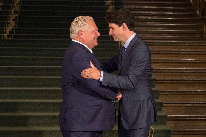 Justin Trudeau parle avec Doug Ford de tarification du carbone