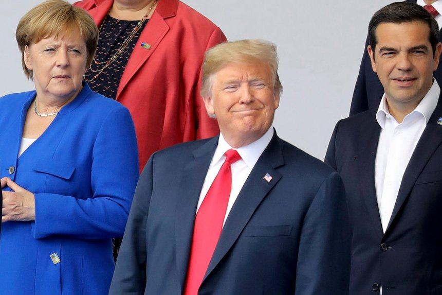 «L'Allemagne est prisonnière de la Russie», lance Trump au sommet de l'OTAN