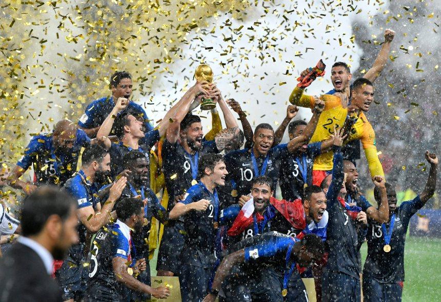 La France est championne de nouveau