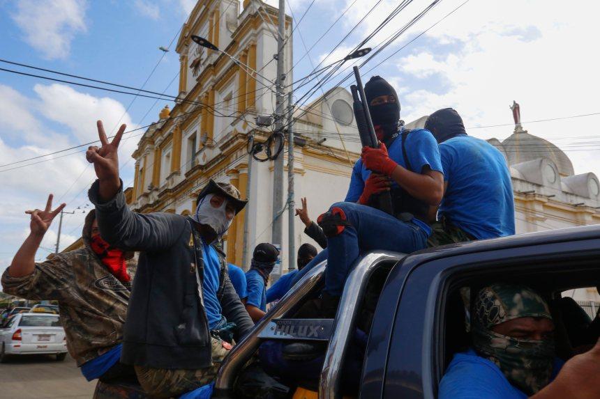 Nicaragua: les forces pro-Ortega asseoient leur contrôle sur Masaya