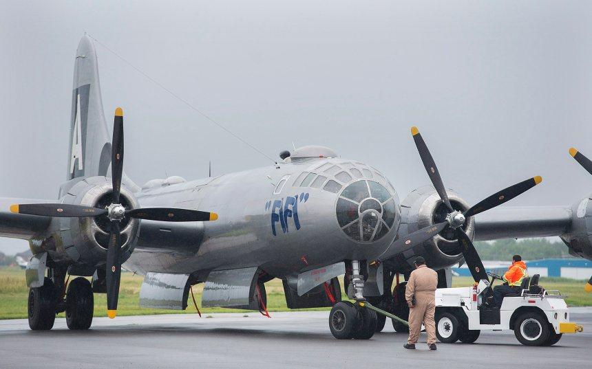 Un bombardier de la Deuxième Guerre mondiale à Montréal
