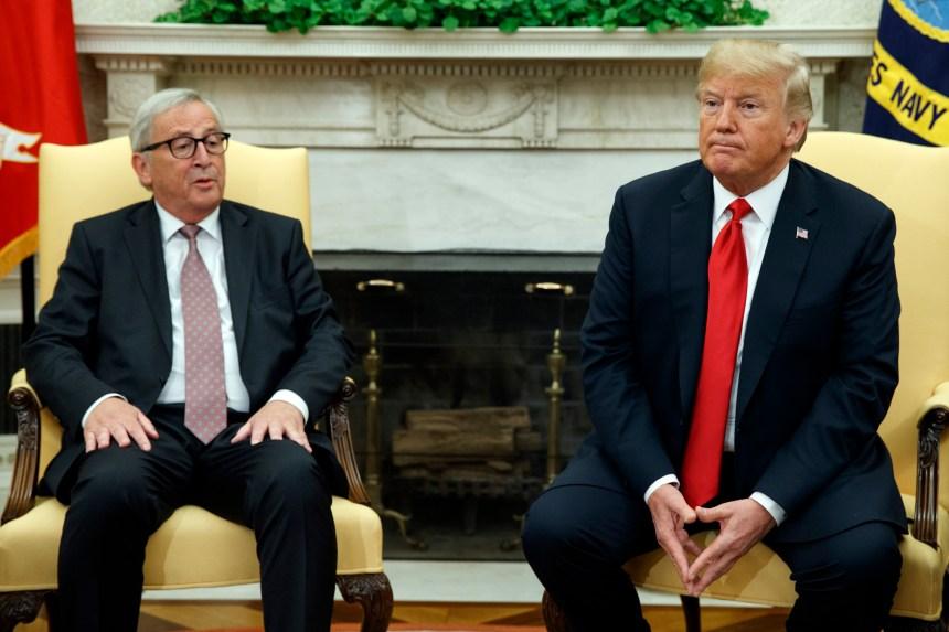 Commerce: Trump et Juncker en quête d'un compromis
