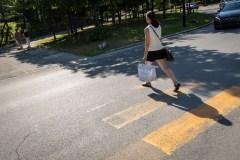 Marquage au sol: plus de cols bleus seront déployés cet été à Montréal