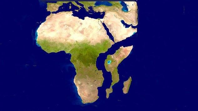 Les plaques tectoniques changent le visage de l'Afrique