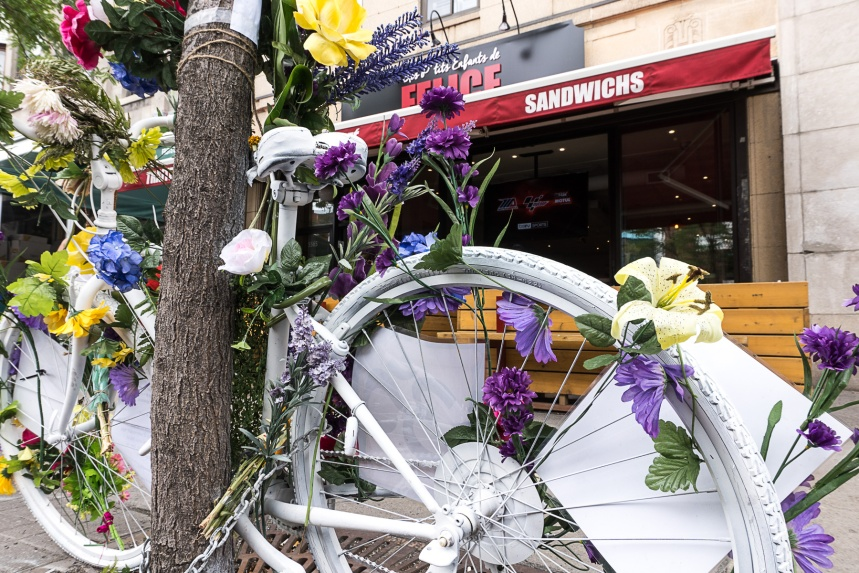 Vélos fantômes: garder une trace