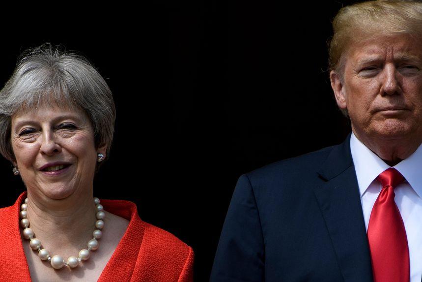 Trump vante la solidité des liens avec Londres malgré la polémique