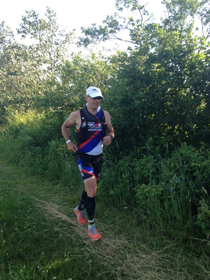 Le conseiller du Sud-Ouest Alain Vaillancourt complète un triathlon extrême