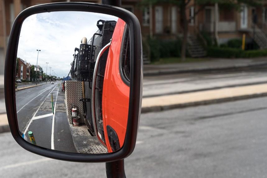 Montréal songe à installer des caméras sur ses camions