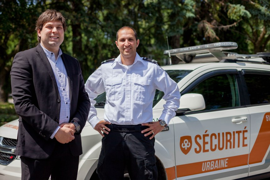 Meet the urban security patrol