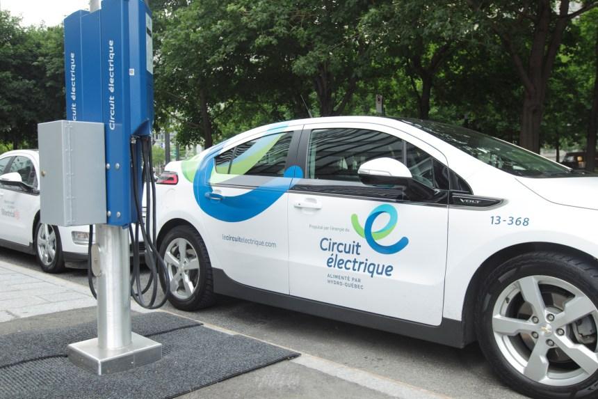 Bientôt des bornes de recharges pour véhicules électriques dans les rues de l'arrondissement