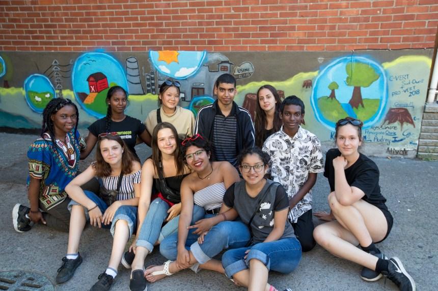 Des jeunes à la rescousse de l'environnement