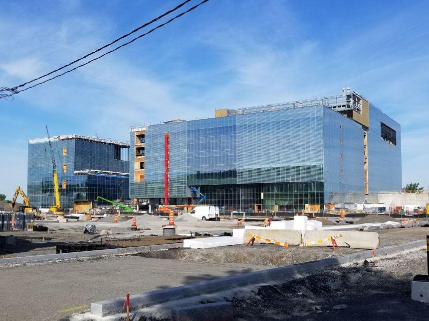À un an de l'ouverture du Complexe des sciences de l'Université de Montréal