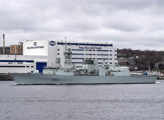 OTAN: La frégate Ville de Québec quitte Halifax pour la Méditerranée