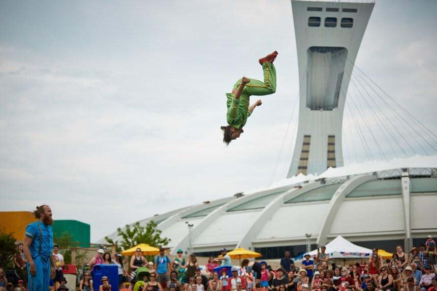 Montréal Complètement Cirque prendra d'assaut le Parc olympique