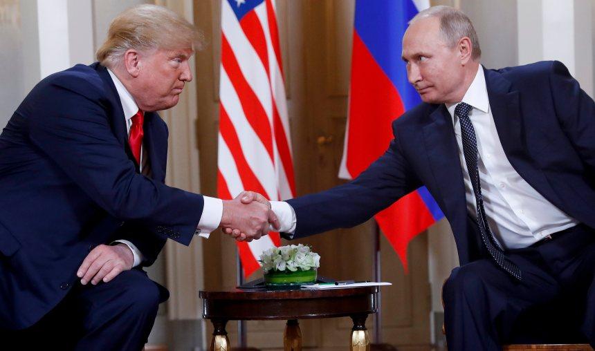 Trump vante sa «fermeté» face à Poutine