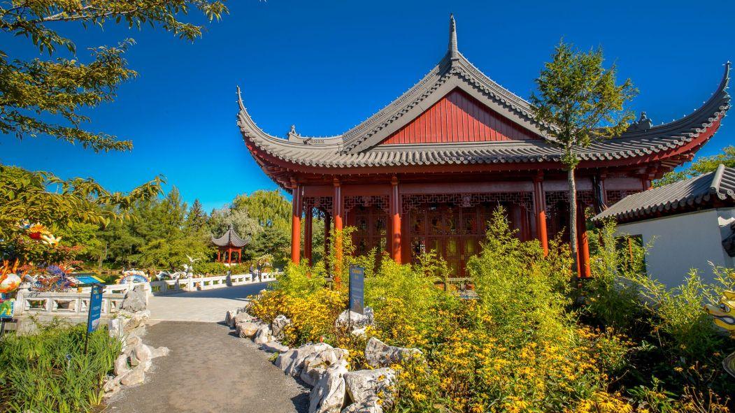 Les travaux au Jardin de Chine devraient permettre aux personnes à mobilité réduite d'y accéder plus facilement.