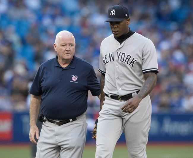 Chapman ne lancera pas au Nationals Park