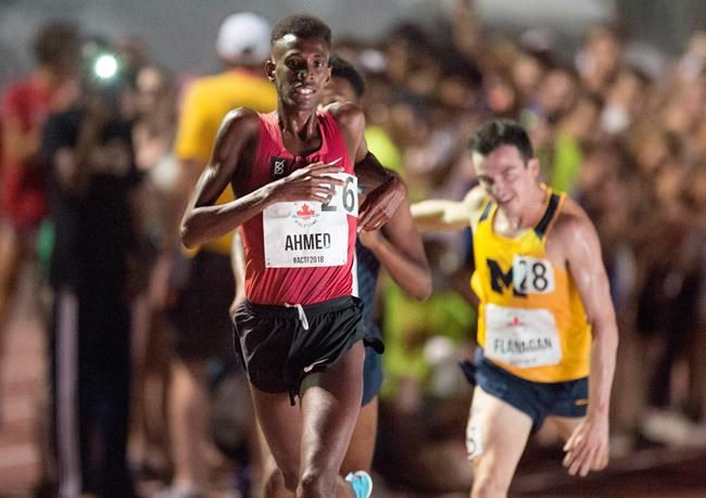 Mohammed Ahmed s'impose au 5000 mètres