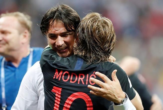 Modric et la Croatie convoitent le titre de la Coupe du monde