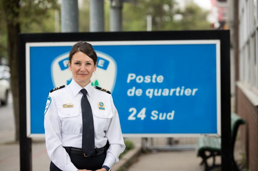 Une nouvelle commandante pour le poste de quartier d'Outremont et de Ville Mont-Royal