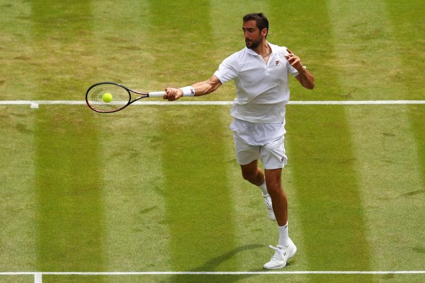 Le Croate Marin Cilic subit l'élimination à Wimbledon