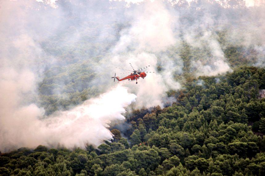 Grèce: les incendies sont les plus meurtriers depuis 2009
