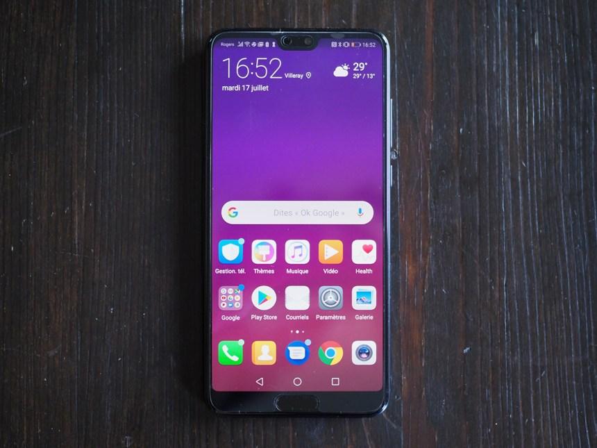 Essai du Huawei P20 Pro : superbe matériel