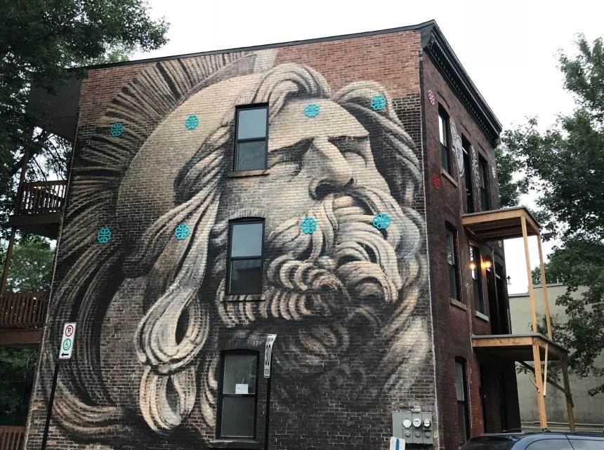 Nouvelle murale à Saint-Henri