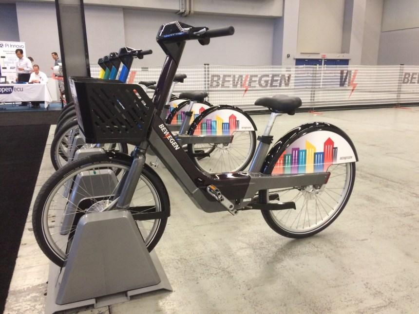 Des vélos électriques en libre-service à Laval