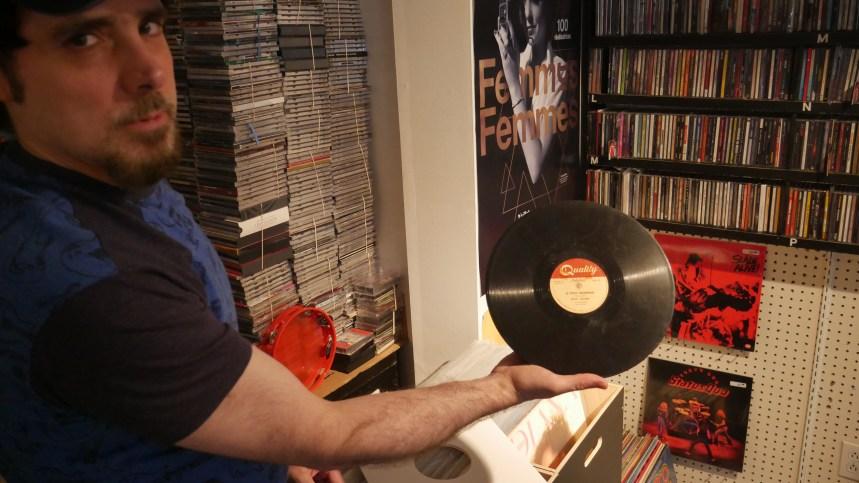 Une boutique offre une seconde vie aux vinyles sur Fleury